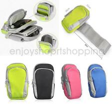 Armband Arm Band Case Wrist Bag Strap Pouch Wallet Cell Phone Holder for Running
