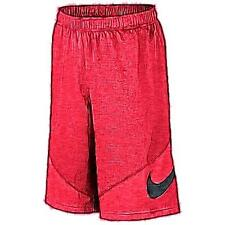 Nike HBR Basketball Shorts - Boys' Primary School (University Red/Black)