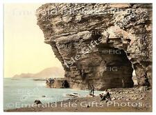 Mayo Achill Menawn Cliffs Old colour Irish Photo Ireland - Size Selectable