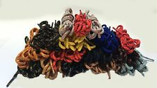 BOOT / SHOE LACES HIKING /WALKING/ WORKING 2 TONE BOOT LACES 4m WIDE