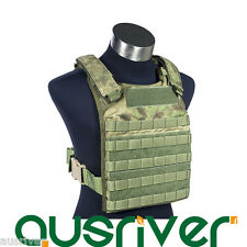 FLYYE Fast Attack Plate Carrier Army Military Tactical Vest Molle SWAT Combat