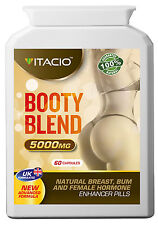 Bum Booty And Hips Enlargement Booty Blend 10:1 Extract 5000 Pills
