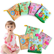 Children Kid Toddler New Infant Learning Cloth Book Soft Toy Girl Baby Cognition