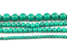 green striped turquoise beads round loose gemstone beads 4mm 6mm 8mm 10mm 15''