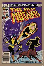 New Mutants (1983 1st Series) Canadian Price Variant #1 FN/VF 7.0