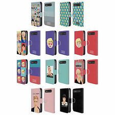 JUSTIN BIEBER JUSTMOJIS LEATHER BOOK CASE FOR BLACKBERRY ASUS ONEPLUS PHONES