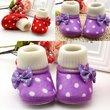 1 Pair New Toddler Soft Sole Boots Cute Warm Baby Newborn Hot Infant Girl Shoes