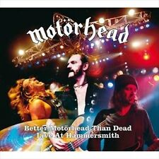 "Better Motörhead Than Dead: Live at Hammersmith by Mot""rhead, Motörhead (CD,..."