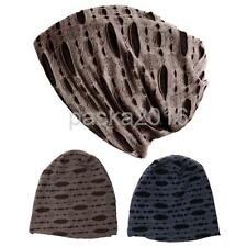 Phenovo Casual Men Winter Warm Ski Hat Slouch Ribbed Beanie Sports Baggy Hat