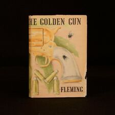 1965 The Man With The Golden Gun Ian Fleming Second Impression Dustwrapper
