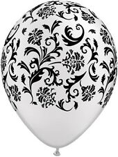 "11"" Damask-A-Round Pearl White Latex Balloons (Anniversary, Wedding, Birthday)"