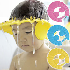 Shower Cap Hat Adjustable Baby Kids Shampoo Bath Bathing Wash Hair Shield