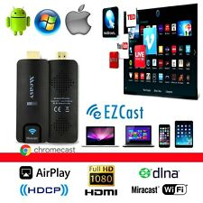 TV Streaming USB Miracast WiFi Android Stick HDMI 1080p HD Media Player Dongle