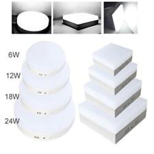 6W 12W 18W 24W LED Recessed Ceiling Panel Downlight Hotel Bulb Square Lamp