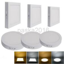 Dimmable 6W-24W LED Recessed Ceiling Light Panel Warm WHT Downlight Lamp Driver