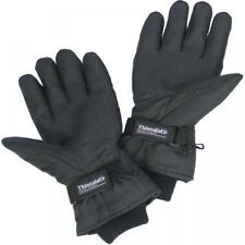 Thinsulate Black Heated Gloves Battery Operated Thermal Fishing Skiing Biking