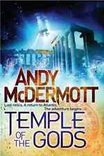 Temple of the Gods (Nina Wilde/Eddie Chase 8), McDermott, Andy, Good Condition B