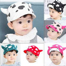 1pcs Milk Baseball Hat Cute Cotton Beret Sun Cap New Infant Toddler Child Baby