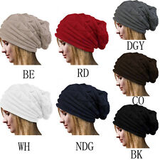 Women's Winter Beanie Knit Hat Crochet Ski Hat Oversized Cap Hat Warm