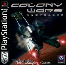 Psygnosis PS1 Game Colony Wars - Vengeance VG+