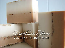 Vanilla Coconut Soap - Handmade Soap - Vegan Soap - Tropical Soap- Soap Gift