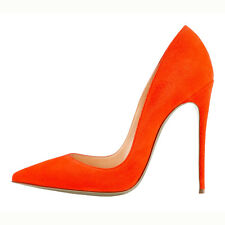 Women high heel stilettos pointed toe pumps slip on party OL sexy shoes US 5-15