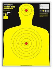 "Center-Fire Life Size Silhouette Paper Shooting Targets - 19""x25"""