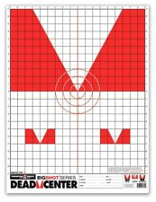 """Thompson DEAD CENTER - Bright Iron & Open Sight Paper Shooting Targets - 19""""x25"""""""