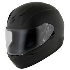 Scorpion EXO-R410 Solid Flat Matte Black Snell/DOT Full Face Motorcycle Helmet
