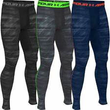 Under Armour CG Armour Novelty Leggings Mens Running Training Sport Tights