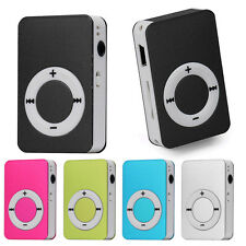 Portable USB Digital Mini Mp3 Music Player Support 8GB Micro SD/TF Card