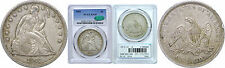 1842 Seated Liberty Dollar PCGS XF-45 CAC