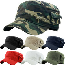 KBETHOS Cadet Fitted Three (3) Caps LOT Army Army Military Hats Mens New w/ Tags