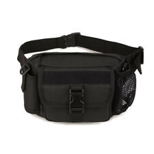 Tactical Outdoor Hiking Travel Water Bottle Belt Fanny Pack Waist Bag Bum Pouch