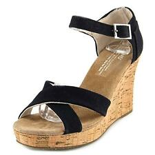 Toms Strappy Wedge Wedge Sandal Women NWOB 5945