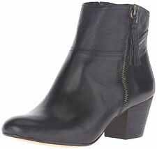 Nine West Women's Hannigan Black Leather Ankle Boot