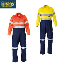BISLEY SAFETYWEAR COVERALLS x2 3M TAPED LIGHTWEIGHT COVERALL 2 TONE BC6719TW