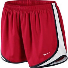 Nike Women's Tempo 3.5 Running Shorts Dri-Fit  Red/White/Black NWT All Sizes