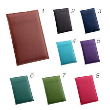 Travel Passport Holder Protector Cover Wallet PU Leather ID Credit Card Cover AU