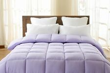OVERSIZED DOWN ALTERNATIVE COMFORTER 100% SOFT MICROFIBER AVAIL IN 8 COLORS