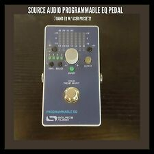 SOURCE AUDIO PROGRAMMABLE EQ PEDAL-7 BAND EQ W/ USER PRESETS!