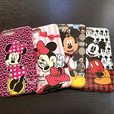 For iPhone 7+ PLUS - Hard TPU Rubber Gummy Skin Case Cover Minnie Mickey Mouse