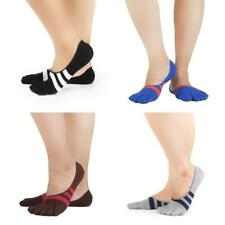 Pair comfort five finger Separate toe Ankle socks Invisible pure cotton Running