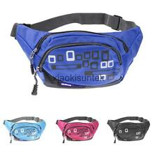 Outdoor Travel Nylon Fanny Pack Belly Waist Bag Running Cycling Belt Phone Pouch
