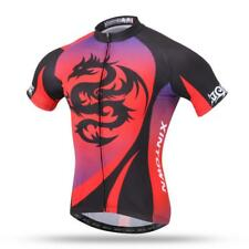 Cool Dragon Cycling Jersey Polyester Half Sleeve Top for Bike Bicycle Sports