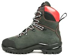 BRAND NEW OREGON FIORDLAND LEATHER CHAINSAW SAFETY BOOTS CLASS 2 ALL SIZES