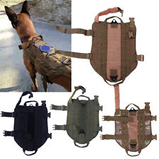 Army Tactical Dog Vests Hunting Dog Training Molle Vest Outdoor Cloth