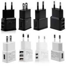 2A 5V 1/2/3-Port USB Wall Adapter Charger US/EU Plug For Samsung S4 5 6 iPhoneFT