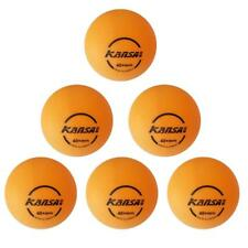 6 Pcs 40mm High Quality Table Tennis Balls Yellow and White
