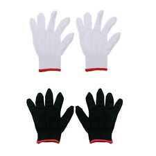 12 Pairs Nylon Safety Coating Work Gloves Builders Grip Protect S M L TSUS